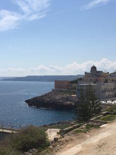 Santa Cesarea Terme (Lecce) seaside overview.