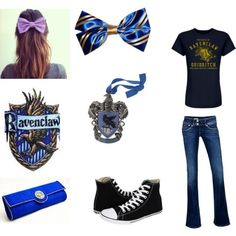 (via Ravenclaw Inspired Outfit) #xmas_present #Cyber_Monday