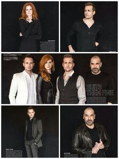 #Suits #SuitsUSA Emmy Magazine photo spread.