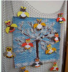 sovičky na stromě