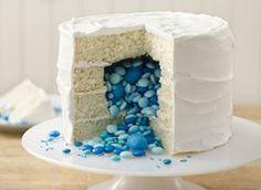 Surprise on the Inside Gender Reveal Cake
