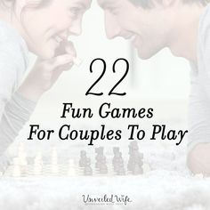 22 Fun Games For Couples To Play --- I recently shared my top 10 favorite games to play with my husband, which you can check out by clicking HERE! The Unveiled Wife Community loved it and was inspired by it to share their favorites too. The response was overwhelming as hundreds of you menti… Read More Here https://unveiledwife.com/22-fun-games-for-couples-to-play/