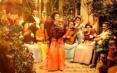 Postales antiguas de Costumbres Andaluzas: Una juerga