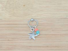Starfish Captive Bead Hoop; Cartilage Earring; Helix Earring; on Etsy, $10.00 Ear Jewelry, Cute Jewelry, Body Jewelry, Jewelery, Unique Jewelry, Cute Ear Piercings, Body Piercings, Piercing Tattoo, Helix Earrings