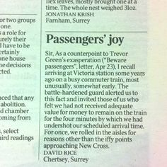 Letter to the Times 25/4/12 - See letter 23/4/12