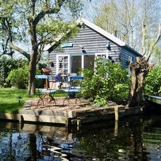 Weekender, Staycation, Weekend Getaways, Renting A House, Netherlands, Tiny House, The Good Place, Shed, Places To Visit