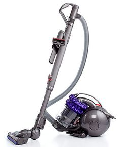 No dirt resides in your pristine home as long as this Dyson DC47 Animal Canister Vacuum is around. Designed with 2 tiers of Radial cyclones, it snags even microscopic dust from your home and gets into crevices that seem unreachable. Dirt - be gone!