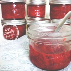 Strawberry and rhubarb preserves and jams (white sugar-free, no gelatin, no added pectin)
