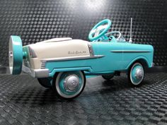 Belair Pedal Show Car 1955 Chevy Midget Custom Race Rod Racing Hot Wheel Art 41 Antique Toys, Vintage Toys, Vintage Sport, 1955 Chevy Bel Air, 1955 Chevrolet, Pedal Cars, Race Cars, Tricycle, Kids Ride On