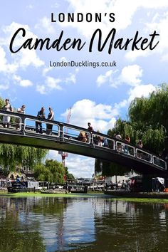 Get an authentic London experience, and explore Camden Market in North London. #camden #markets #london Camden London, North London, Great Places, Places To Go, Camden Lock, London Souvenirs, Rave Music, London Night, London Boroughs