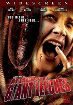 Attack of the Giant Leeches    - FULL MOVIE - Watch Free Full Movies Online: click and SUBSCRIBE Anton Pictures  FULL MOVIE LIST: www.YouTube.com/AntonPictures - George Anton -   In a small town, the silence is shattered by a rash of disappearances at the swamp near the old deserted factories. Bodies are being discovered with no blood left in their bodies. Its up to a park ranger and the town sheriff to discover what ungodly creature is responsible for these deaths. Its ...