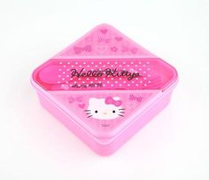 Hello Kitty Lunch Container: Pink Bow
