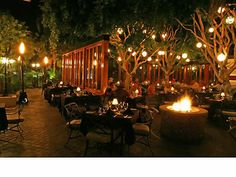 Spencer's Restaurant and the Bougainvillea Room - Palm Springs