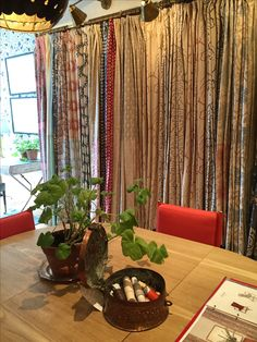 Fabric area at Soane Britain's showroom, London. Furniture Making, Showroom, Britain, Upholstery, Palette, Colour, London, Wallpaper, Interior