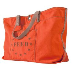 FEED for Target® Women's Large Tote -Orange