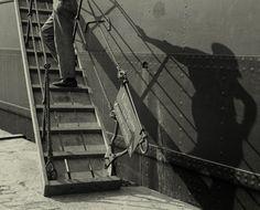 Puerto de Barcelona, by Antoni Arissa 1930s