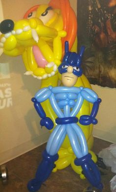 Super heroes - Balloon Creations on facebook