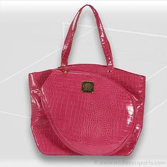 Court Couture Pink Berry Cassanova Tennis Bag