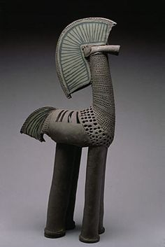 Proud Green Horse, 2000 - Rene Murray • Ceramics