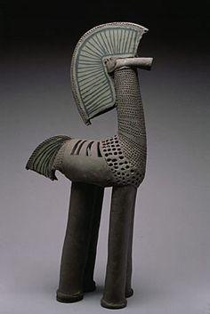 Proud Green Horse, 2000 - Rene Murray • Ceramics