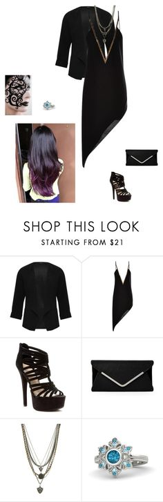 """Hawkeye's Daughter #7"" by frostedrose10 ❤ liked on Polyvore featuring M&Co, Anthony Vaccarello, Chinese Laundry, Ettika and Gemvara"