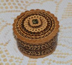 Wooden Jewelry Box for Women - Wedding Gift for the Bride - Small Jewelry Box - Wood Ring Box - Rustic Jewelry Box - Birch Bark Wood Box by BirchBarkEco on Etsy
