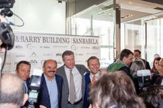 Brian&Barry Building opening