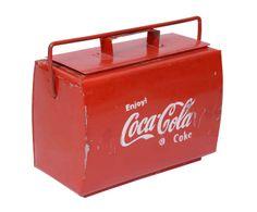Caja de metal Coca-Cola – rojo I
