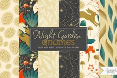 Night Garden, What Inspires You, Pink Paper, Artist At Work, Scrapbook Paper, Logo Design, Big Group, Clip Art, Branding