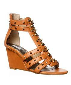 Rachel Roy Ollysa Wedge Sandals - Light Natural In Brown Gladiator Sandals, Wedge Sandals, Wooden Sandals, Rachel Roy, Wedges, Natural Brown, Stuff To Buy, Shopping, Shoes