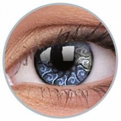 Lentile de contact colorate argintii Jewel Silver - http://lensa.ro/lentile-contact-colorate/stars-jewel/jewel-silver