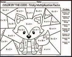 multiplication coloring sheets Free coloring pages to print or