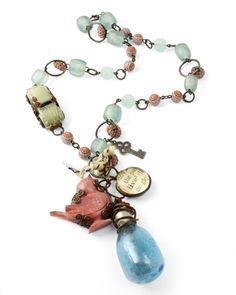 Upcycle Trinkets & Flea Market Finds into Wearable Art ... http://vintaj.com/wpblog/?p=13334