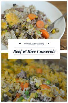 Beef & Rice Casserol