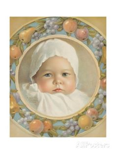 Portrait of Baby by Annie Benson Muller Giclee Print by Annie Benson Muller at AllPosters.com