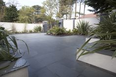 Slate Paving Slabs, Stone Store, Natural Stones, Patio, Inspirational, Grey, Nature, Plants, Projects