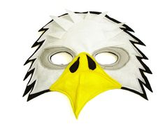 This BALD EAGLE mask is designed for everyday fun, great for dress up and pretend play, ideal gift, perfect for themed birthday parties, party favor