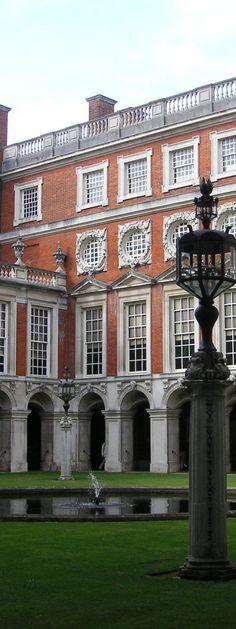 Hampton Court Palace - London Borough of Richmond upon Thames. England