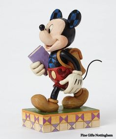 Disney Traditions Mickey Mouse Eager To Learn Figurine Jim Shore…