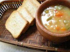 Sopa de feijão branco com legumes, Receita Petitchef