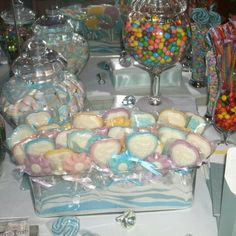 Candyland sweets table