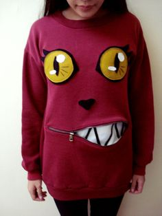 Cat Sweater  - but idea would work well for ugly christmas sweater