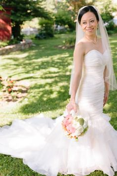 WEDDING GOWN DEAL!! Maggie Sottero, Destiny / S5260 in pristine condition / once used. Organza Size 2 Wedding Dress For Sale | Still White http://www.stillwhite.com/17086