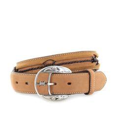 784e0e1cf1c10b Justin Belts FENCE C10817 Bark Westerngürtel - braun
