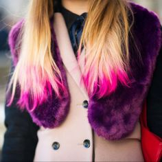 Taking hair back to a natural shade can take some effort, so be sure to go to an experienced colorist. If you miss having an extreme hue, try Kevin Murphy Color Bugs or Rita Hazan Pop Color Spray for an pop of color you can change daily.