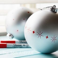 16. Christmas Ornaments