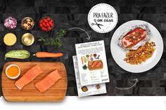 Ainda em clima de soft-opening, o site oferece receitas super saudáveis e bem explicadinhas pra você encomendar os ingredientes fresquinhos e já separados na porção certa.