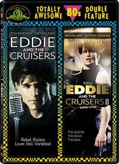 Amazon.com: Eddie and the Cruisers / Eddie and the Cruisers II: Eddie Lives! (Totally Awesome 80s Double Feature): Michael Pare, Tom Berenger: Movies & TV