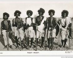"Native Threads Collective on Instagram: ""A group of Beja warriors, referred to as ""Fuzzy Wuzzy"" by the British colonial soldiers📍 Sudan 🇸🇩 c. later 1800's // #NativeThreads // ⠀…"" Fine Art Prints, Canvas Prints, Fuzzy Wuzzy, African History, North Africa, Photographic Prints, New Image, Poster Size Prints, Egypt"
