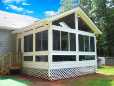 Add to the look and feel of your home! First and foremost, sunrooms improve the appearance and style of your home. A sunroom can be justthe thing to add that level of sophistication and style to any home. Sunrooms are inviting and afford you acomfortable, visually appealing space to call your own. Porch Conversion offers...www.porchconversion.com